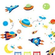 CherryCreekDecals Super Space Explorer Nursery Wall Decal