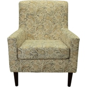 Charlton Home Groesbeck Armchair; Paisley Yellow