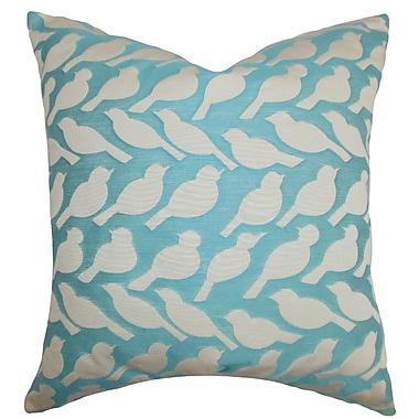 The Pillow Collection Koen Animal Print Throw Pillow; 22'' x 22''