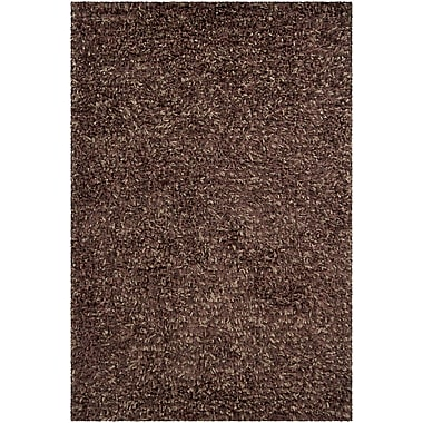 Williston Forge Angella Brown Solid Area Rug; 9' x 13'