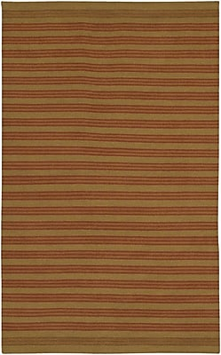 August Grove Aneres Brown Rug; Round 5'9''