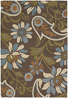 August Grove Duryea Flower Area Rug; 5' x 7'6''