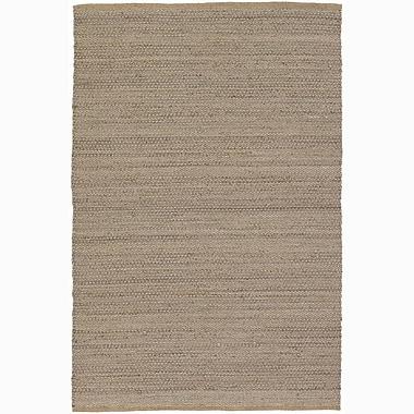 August Grove Elverson White Area Rug; 5' x 7'6''