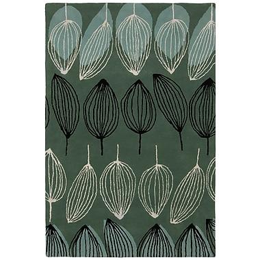 Brayden Studio Wurth Hand Tufted Rug; 5' x 7'6''