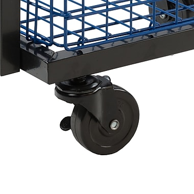 Atlantic Transformable 2 Tier Mobile Utility Cart; Black