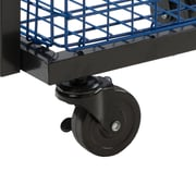 Atlantic Transformable 2 Tier Mobile Utility Cart; Black
