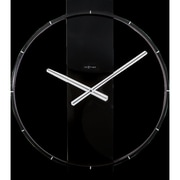 Orren Ellis Desi 20'' Wall Clock; Black