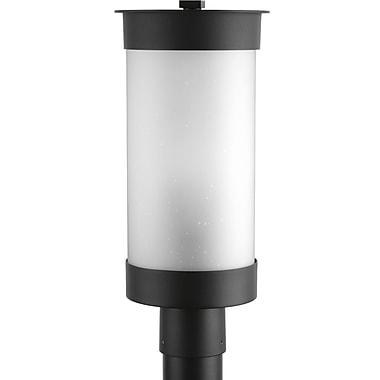 Brayden Studio Zakrzewski Modern 1-Light Outdoor Sconce; Black