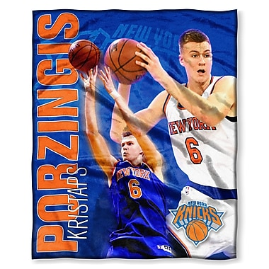Northwest Co. NBA Knicks Kristaps Porzingis Touch Throw