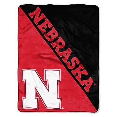 Northwest Co. COL Nebraska Halftone Throw
