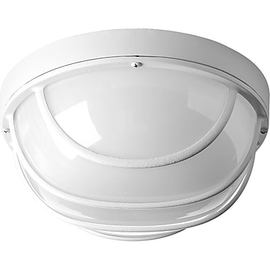 Latitude Run Krystn 1-Light LED Flush Mount; White