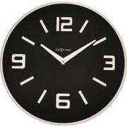 Orren Ellis Alameda 16.93'' Wall Clock; Black