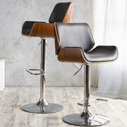 Orren Ellis Chara Adjustable Swivel Bar Stool
