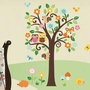CherryCreekDecals Charming Woodland Nursery Wall Decal
