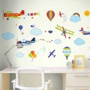 CherryCreekDecals Vintage Planes Nursery Wall Decal