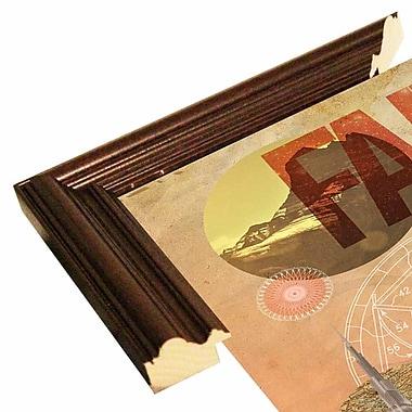 East Urban Home 'Rise of Mary' Framed Graphic Art Print; Cherry Wood Grande Framed Paper