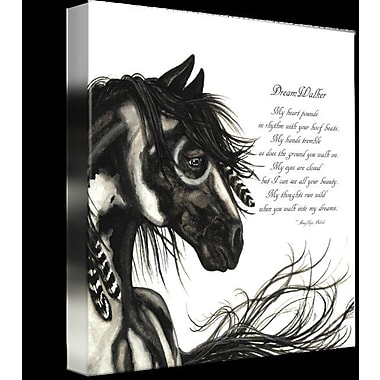 Alcott Hill 'Majestic Horse DreamWalker' Graphic Art Print on Wrapped Canvas; 11'' H x 11'' W