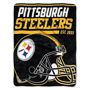 Northwest Co. NFL Steelers 40 Yard Dash Micro Throw