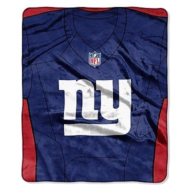Northwest Co. NFL NY Giants Jersey Raschel Throw
