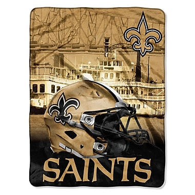 Northwest Co. NFL Saints Heritage Touch Throw