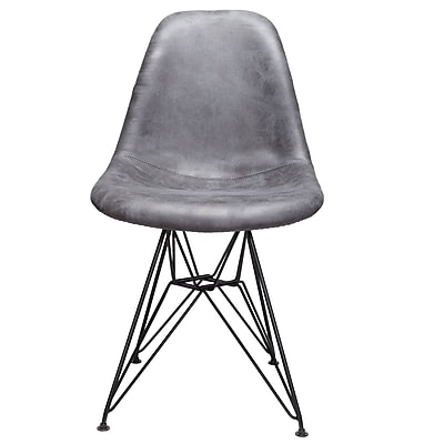 Williston Forge Laure Side Chair; Gray