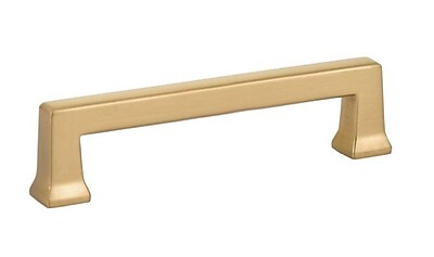 Emtek Alexander 6'' Center Bar Pull; Satin Brass