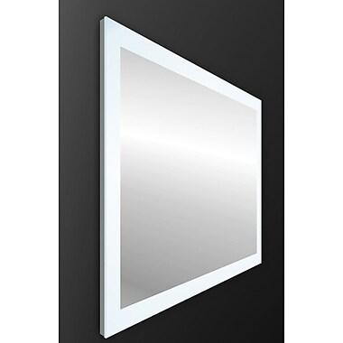 Orren Ellis Ankit Modern LED Vanity Mirror; 24'' H x 35'' W x 2.2'' D