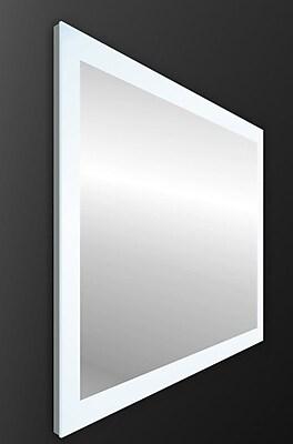 Orren Ellis Ankit Modern LED Vanity Mirror; 28'' H x 47'' W x 2.2'' D