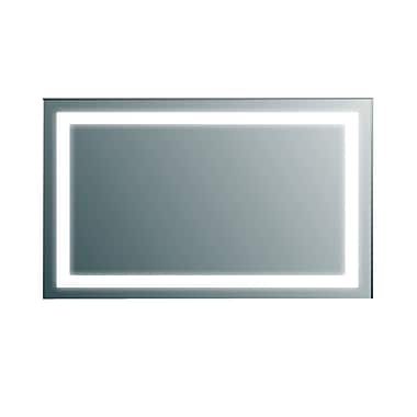 Orren Ellis Ankit Modern LED Bathroom Vanity Mirror; 30'' H x 48'' W x 2.2'' D