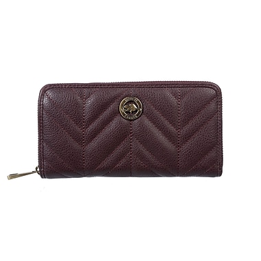 Roots 73 Zip Around Clutch, Purple (RT27171-9-PPL)