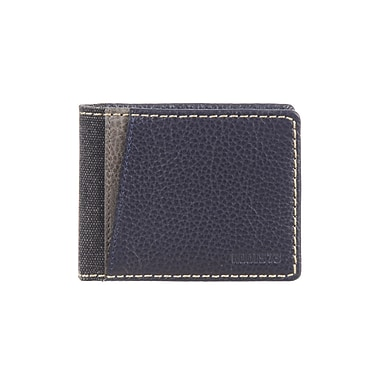 Roots 73 Slimfold Wallet, Navy Combo (RT29152-RN-NV)