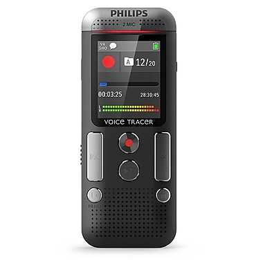 Philips 2710 Voice Tracer Audio Recorder Anthracite, (DVT2710/00)