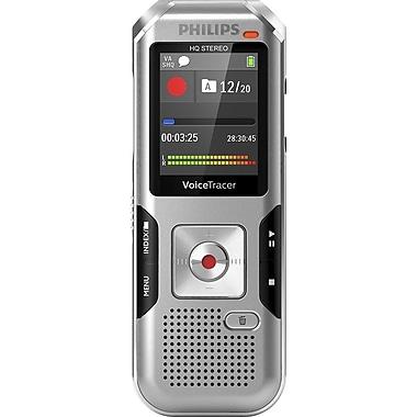 Philips - Enregistreur audio 4010 Voice Tracer, ombre argentée (DVT4010/00)