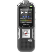 Philips 6010 Voice Tracer Audio Recorder Silver Shadow, (DVT6010/00)