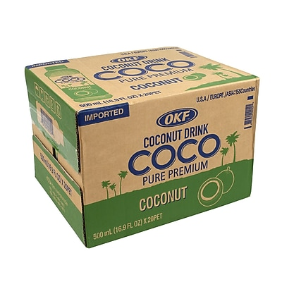 Coco Coconut Drink Bottles, 16.9 fl. oz., 20 Count (00054)