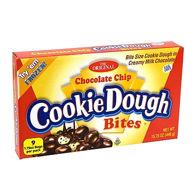 Ginormous Chocolate Chip Cookie Dough Bites Box, 16 oz. (10896)