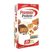 Premier Protein High Protein Bars Variety Pack, 2.53 oz., 18 Count (3425)