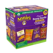 Annie's Organic Bunny Snacks Variety pack, 1 oz., 36 Count (57225)