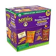 Annie's Organic Bunny Snacks Variety Pack, 1 oz., 36/Pack (57225)