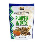Nut'n But Natural Pumpkin & Oats, 4 oz., 4 Pack (44025)
