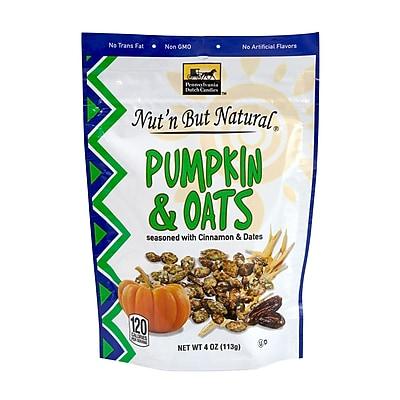 Nut'n But Natural Pumpkin & Oats, 4 oz., 4 Pack (44025)
