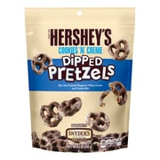 HERSHEY'S Cookies 'N' Creme Dipped Pretzels Pouch, 8.5 oz., 6 Count (21465)