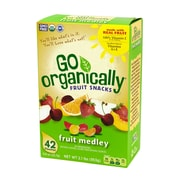 Go Organically Fruit Medley Fruit Snacks, 42 Count (84204)