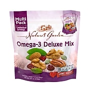 Nature's Garden Omega-3 Deluxe Mix, 1.2 oz., 7 Count/Pack, 6/Pack (7025)