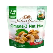Nature's Garden Omega-3 Nut Mix, 1.2 oz., 7 Count, 6 Pack (07028)