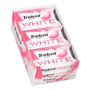 Trident White Minty Bubble Sugar-Free Gum, 16 Pieces, 9 Count (131857)