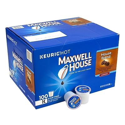 Maxwell House House Blend K-Cups, 100 Count (314054) 24171858
