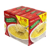 Lipton Noodle Soup Mix, 2 Pouch Box, 5 Pack (00410)
