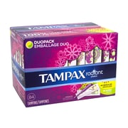 Tampax Assorted Radiant Tampons, 84 Count (91145317)