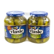 Vlasic Kosher Dill Spears Pickles, 32 oz., 2 Pack (00140)